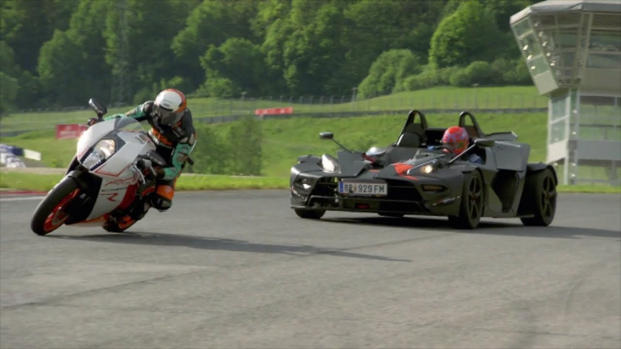 Crossbow Vs Roundup Ktm Crossbow Rr Vs Ktm Rc8r - Fifth Gear - Youtube