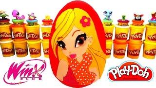 Winx Club Stella Sürpriz Yumurta Oyun Hamuru - Zelfs LPS Cicibiciler Oyuncakları
