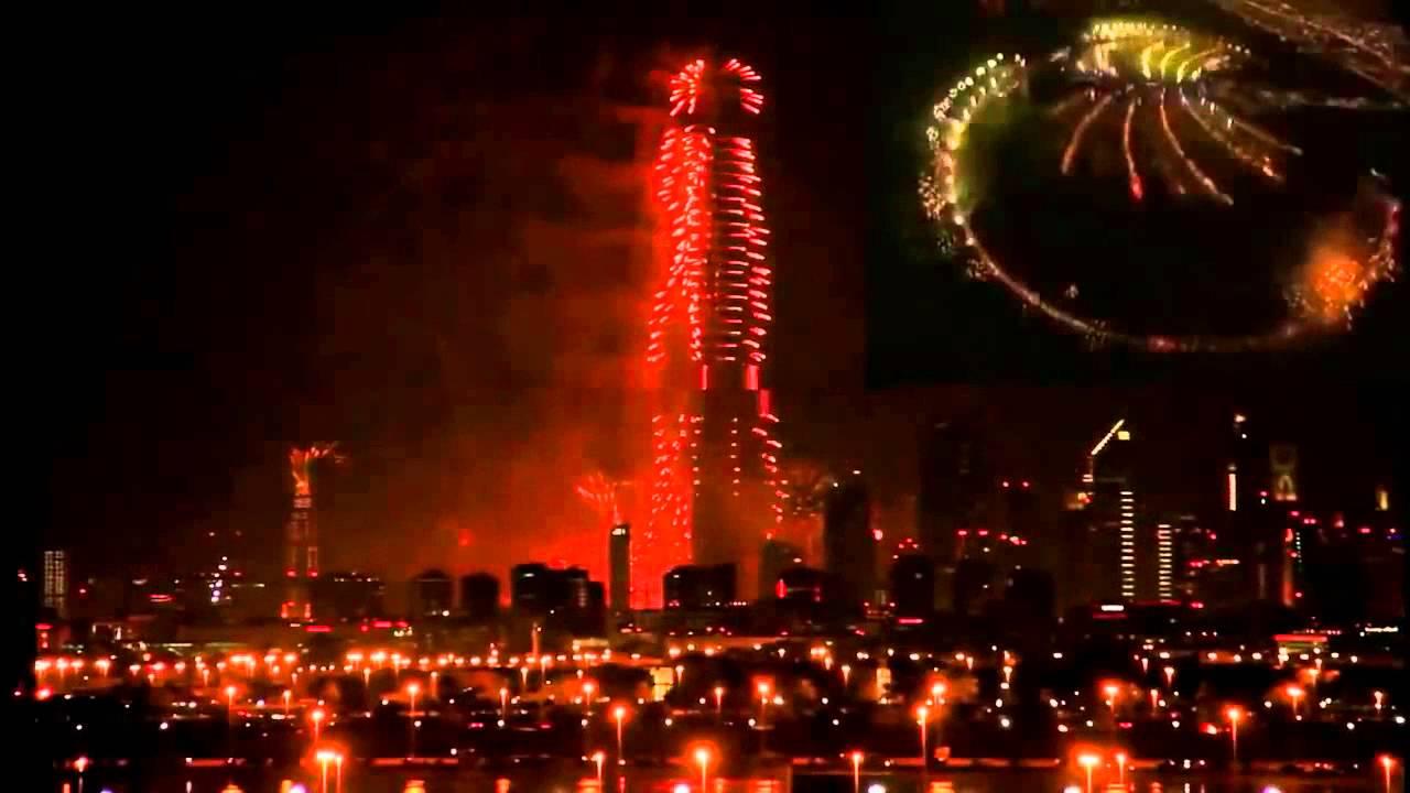 in dubai christmas celebrations in 2015 in dubai burj khalifa youtube