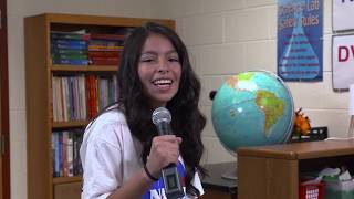 Middle School Students' First Words on Mars