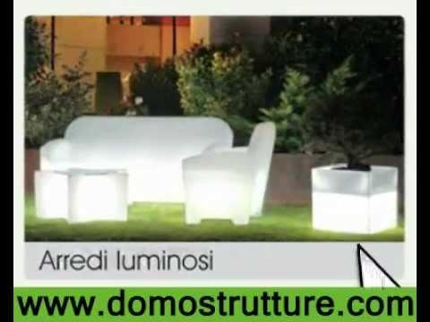 Domo strutture arredo online mobili luminosi for Domo arredamenti