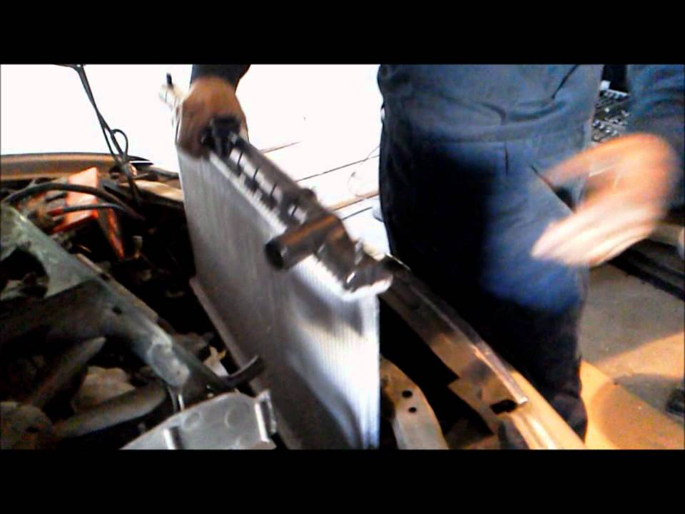 DYI Radiator replacement  YouTube