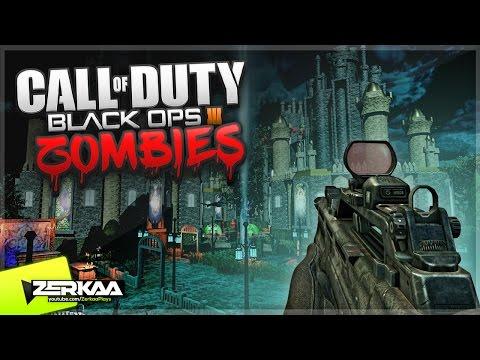 DRACULA'S LAIR! (Black Ops 3 Custom Zombies)
