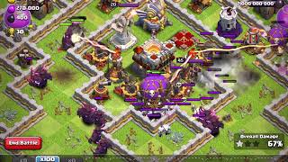 Clash of Clans Private Server - Super P.E.K.K.A & Drop Ships vs. Maxed Town Hall 11