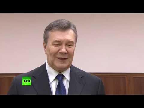 Янукович об очной ставке с Порошенко: У нас бы состоялся серьезный мужской разговор