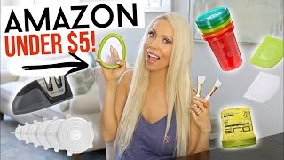THE ALL-TIME BEST AMAZON PRODUCTS UNDER $5!!