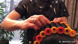 Химическая завивка волос крупными локонами на длинные волосы