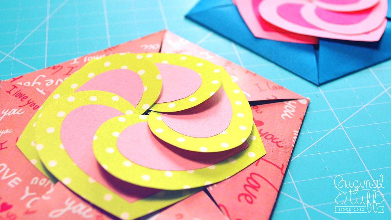 Carta Fácil Para Regalar Love Card Diy San Valentín