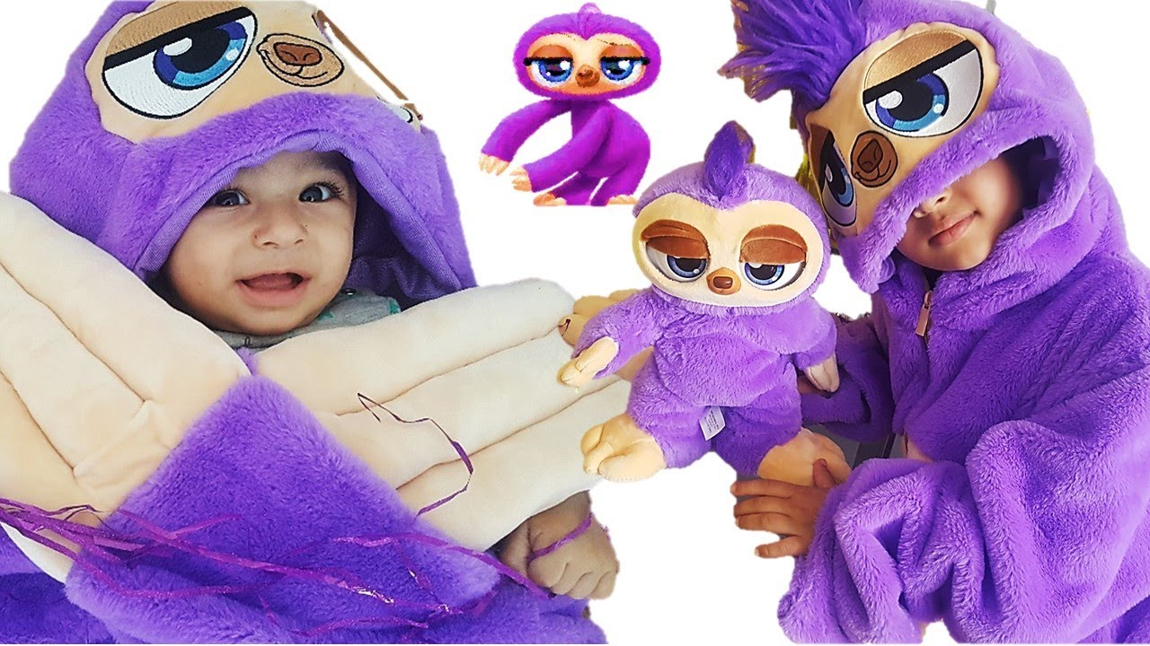 Mama And Baby Fifi The Flossing Sloth New From Zuru Pets Alive