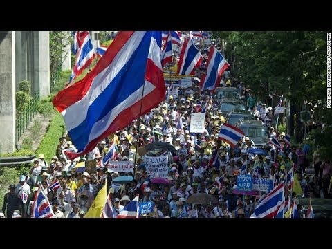 2 killed, 21 injured when gunmen fire on Bangkok anti-government protesters