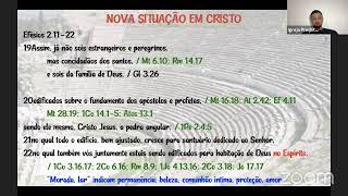 Efésios 2.20-22 - Estudo Bíblico - 07/042021