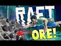 Raft - Deep Water Diving - Finding Rare Ore! - Major Raft Expansion - Raft Gameplay
