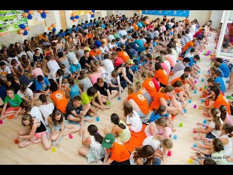 Cup Song performance with ByTheWay at Funside Balaton Camp, Hungary