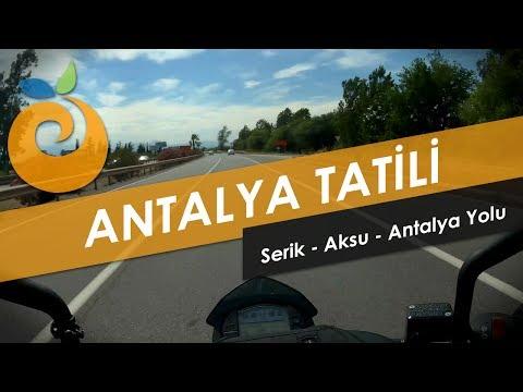 Motosikletle İstanbul - Antalya // Serik - Antalya Yolu