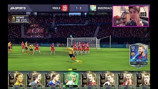 FIFA MOBILE FORFEIT 98 TOTY MESSI CHALLENGE!!! vs. BEST 137 OVR TEAM!! Intense Gameplay! | FIFA iOS