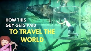 HOW TO TRAVEL THE WORLD FOR FREE by DAVIDSBEENHERE