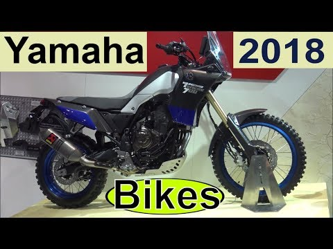The Yamaha 2018 Motorcycles (long video eicma)