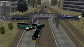 MSTS Train Crashes - Video 2