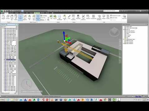 Navisworks crane Animations