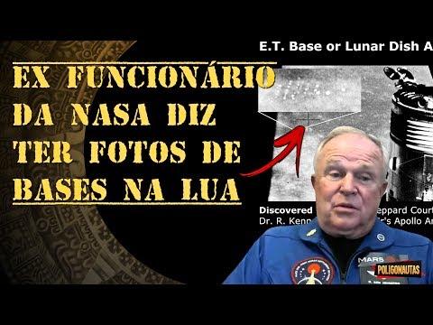 Ex Funcionário da NASA Diz Ter Fotos de Bases na Lua | Lenda ou Fato?