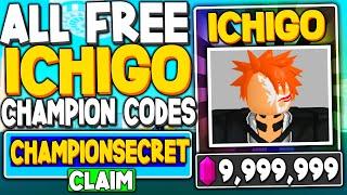 All Free *secret Ichigo* Codes In Anime Fighting Simulator  Roblox Codes