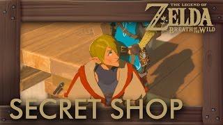 Zelda Breath of the Wild - How to Unlock Secret Shop (New Hylian Shield & Rare Armor)