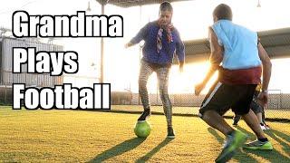 Grandma Does Soccer Tricks - Maxmantv
