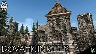 DOVAHKIIN KEEP: Castle Player Home!!- Xbox Modded Skyrim Mod Showcase