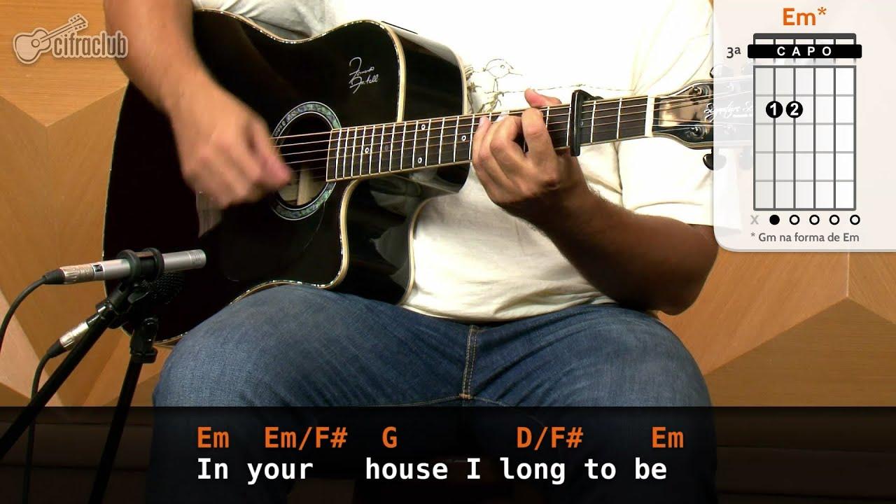 Like A Stone - Audioslave (aula de violão completa)