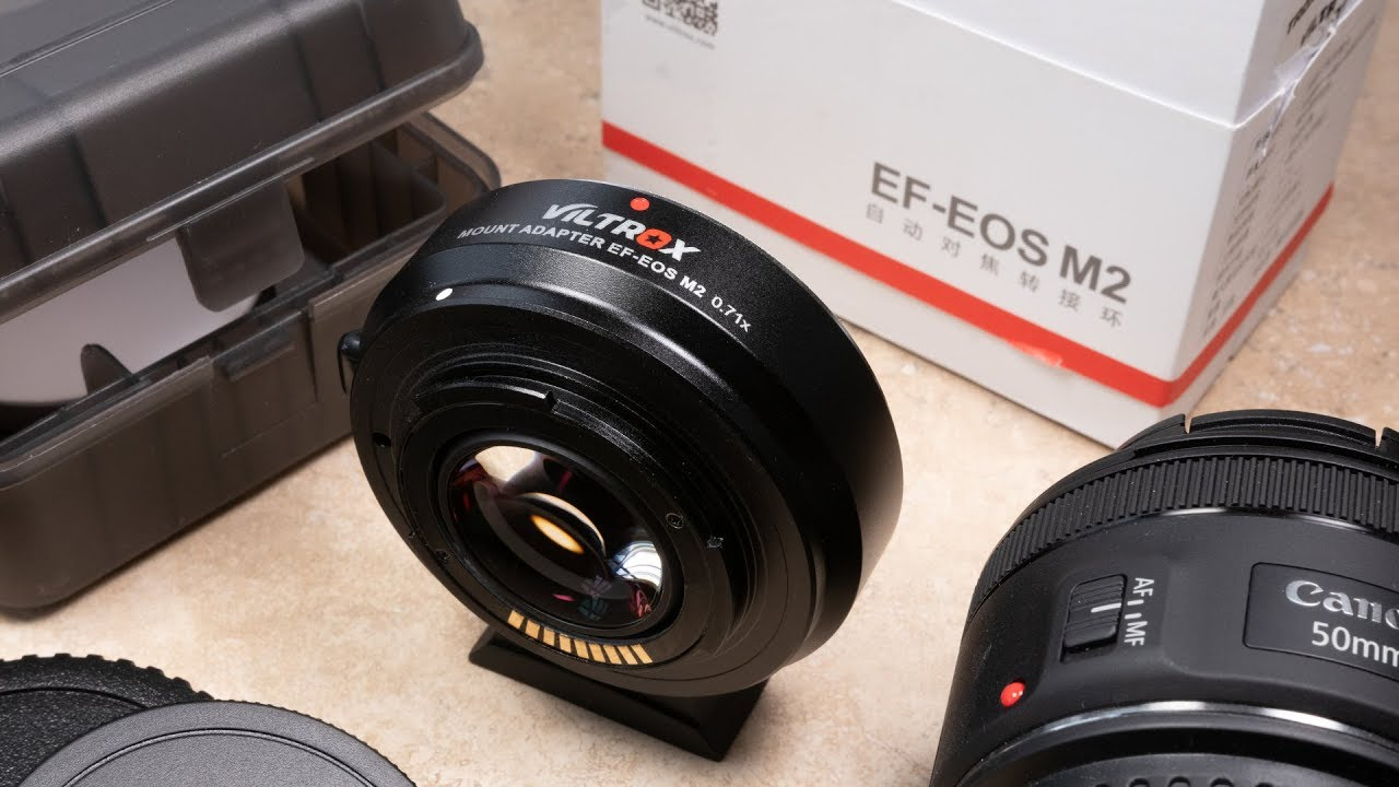 Canon M50 Lens Adapter