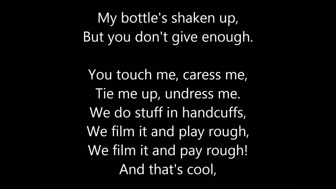 Touching leads to sex lyrics