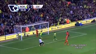 Video Gol Pertandingan Norwich City vs Liverpool