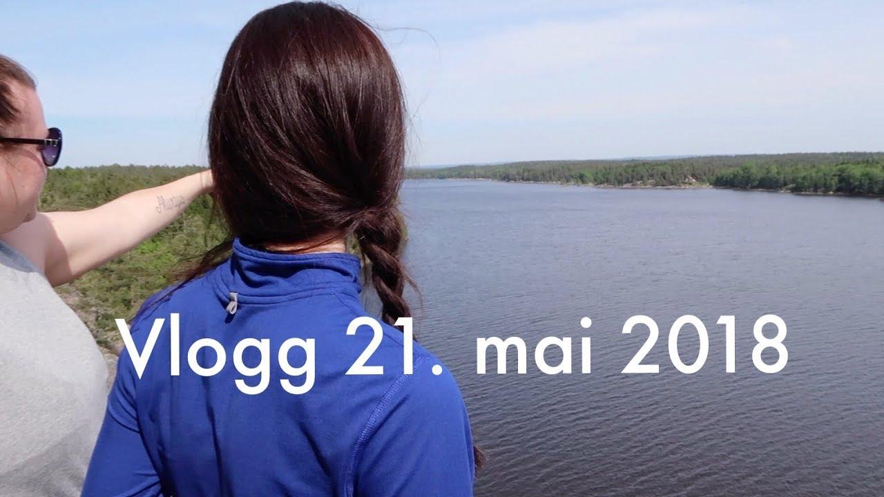 vlogg rydding skogstur og bryllupsinvitasjoner youtube