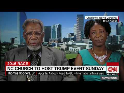 Historically Black Charlotte Church Endorses Donald Trump