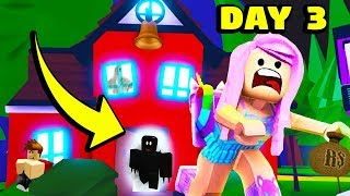 LAST TO LEAVE HAUNTED SCHOOL GAGNE 100 000 $! (Roblox Adopt Me)