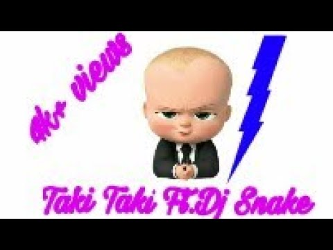 Taki Taki || Dj Snake || The Boss Baby Version By Ayush Kumar