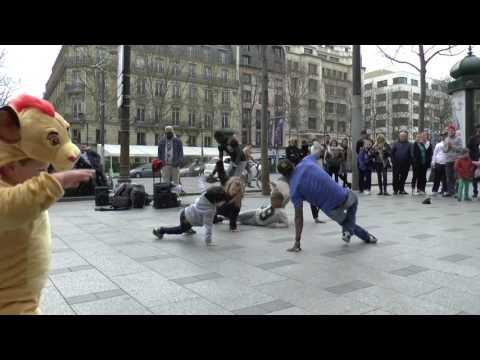 Street Show Groupe Dynamique A Boy Sck Seydou et Chocolat