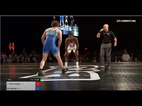 74 kg Jordan Burroughs USA vs Ben Askren NCAA