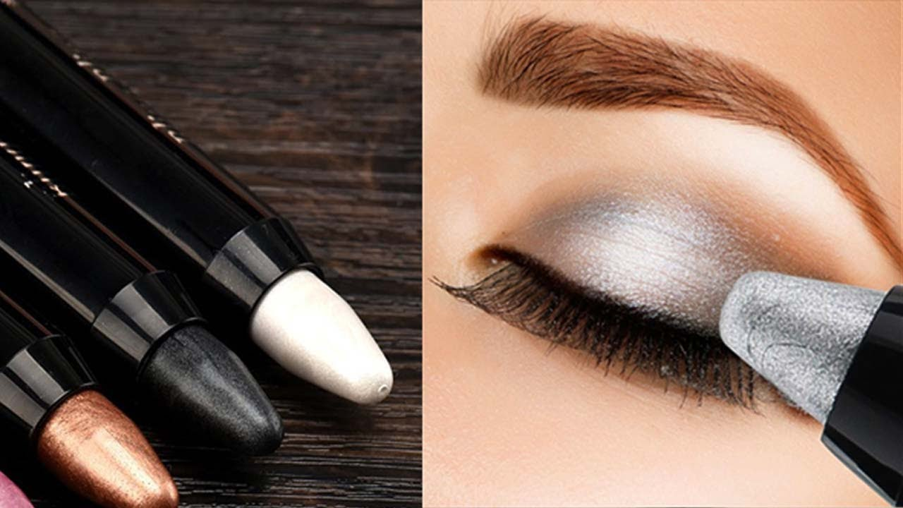 How to apply eyeshadow perfectly using pencil with loop how to apply eyeshadow perfectly using pencil step by step tutorial beauty tips for ccuart Choice Image