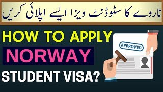 How to Apply Norway Student Visa