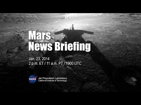 Mars News Briefing