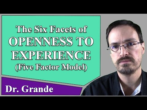 The Six Facets of Openness to Experience (Five Factor Model)
