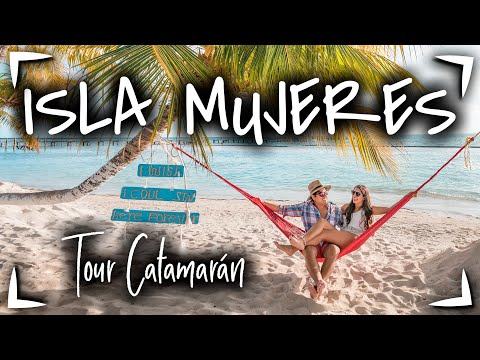 ISLA MUJERES Tour CATAMARAN PLUS $1150 MXN 🔴 SNORKEL, BARRA LIBRE y BUFFET INCLUIDOS  ► Tour 7 HORAS