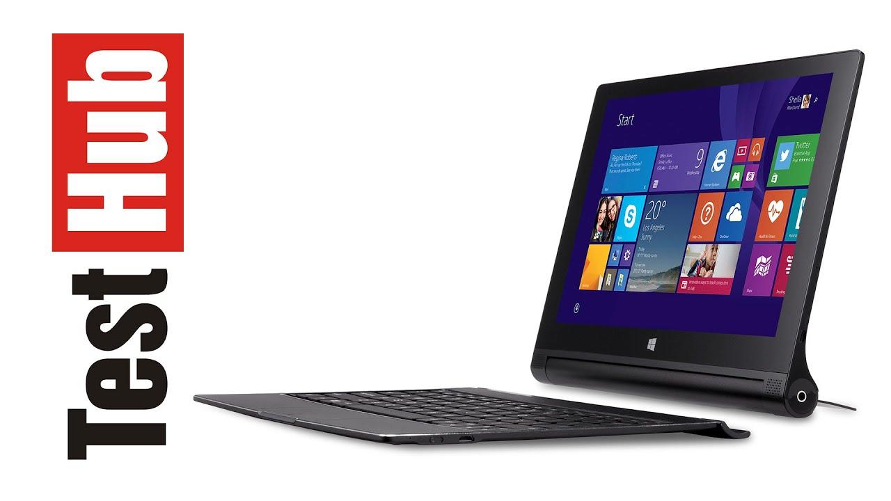 lenovo yoga tablet 2 10 lte windows 8 1 test review. Black Bedroom Furniture Sets. Home Design Ideas