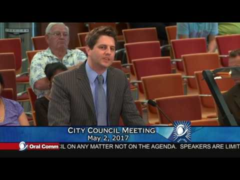 City Council Meeting - Resident Speaks out for a Vallco Citizen's Advisory Committee