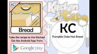 Pumpkin Date Nut Bread - Kitchen Cat