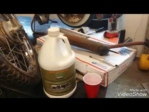 Convert Rust From Motorcycle Exhaust And Repaint With Rust Sergeant Rust Converting Primer!