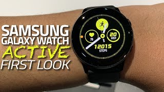 Samsung Galaxy Watch Active First Look | Blood Pressure Monitor, Auto Exercise Tracking, and More