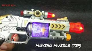 Laser Sound Gun (Musical Gun with Infrared Beam)