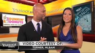Common guest co-hosts on the Yahoo Sports Minute w/ Angela Sun